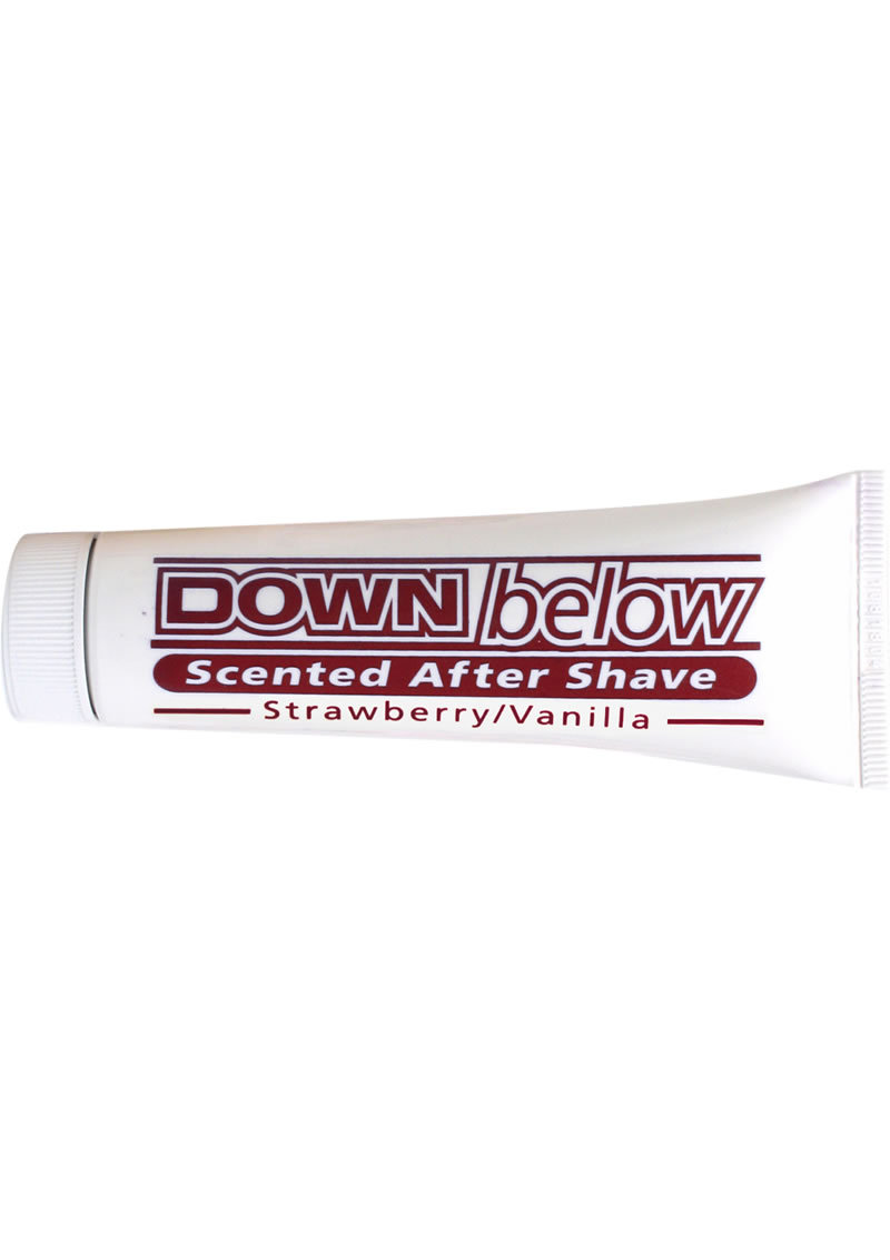 Down Below Scented After Shave For Him Or Her Strawberry Vanilla